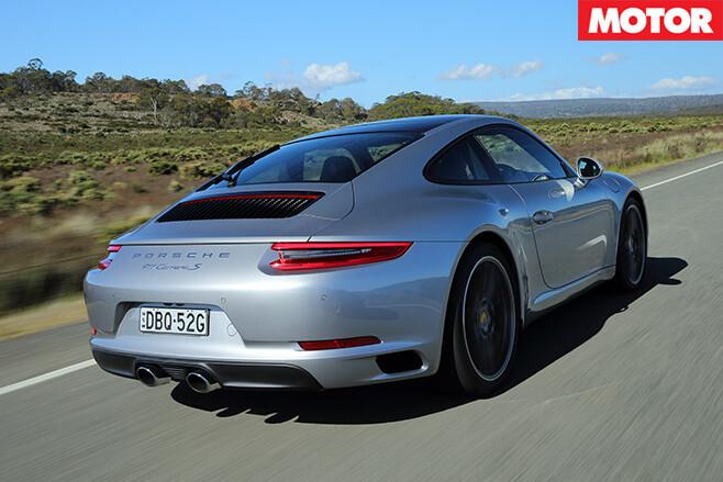 Porsche 991.2 911 Carrera rear