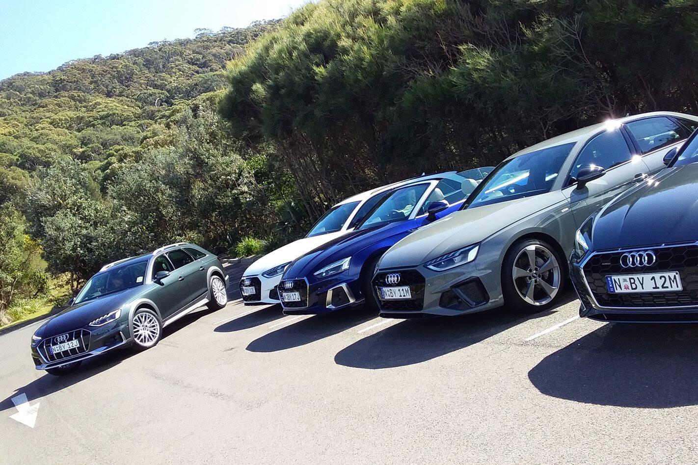 2020 Audi A4 and A5 range