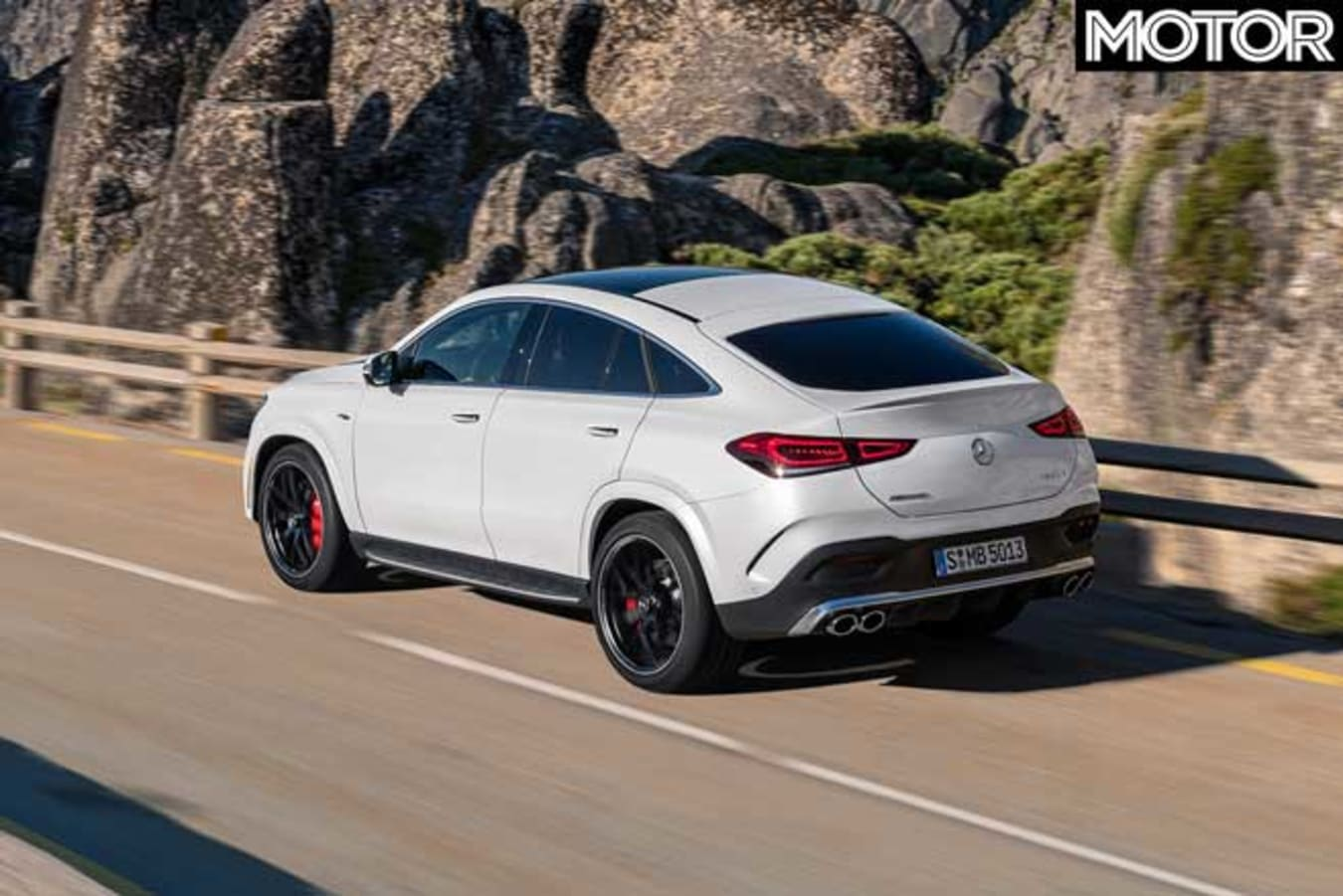 2020 Mercedes AMG GLE 53 Coupe Rear Jpg