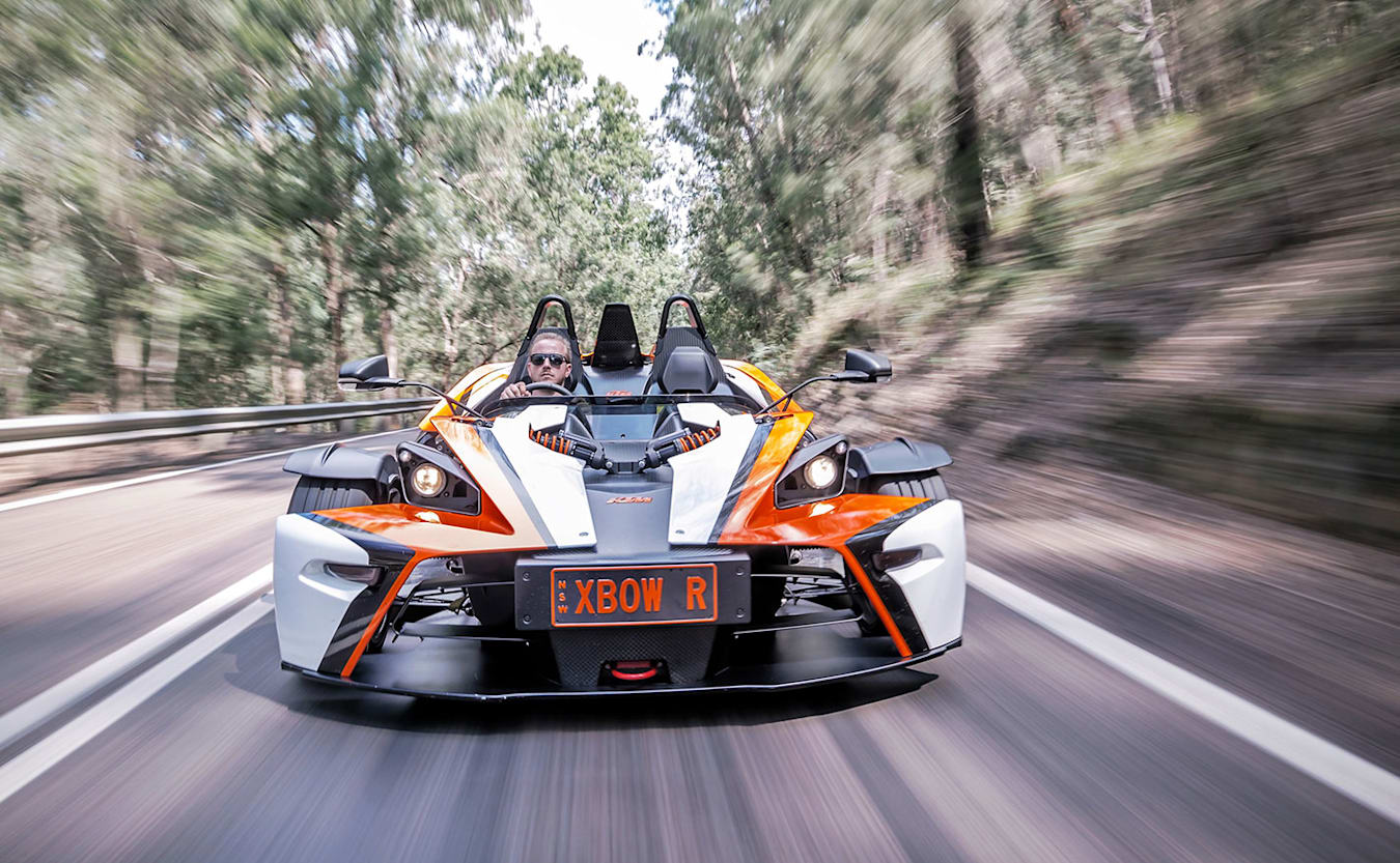 KTM X-BOW front facing