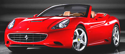 Cops seize Ferrari California for doing what it does best