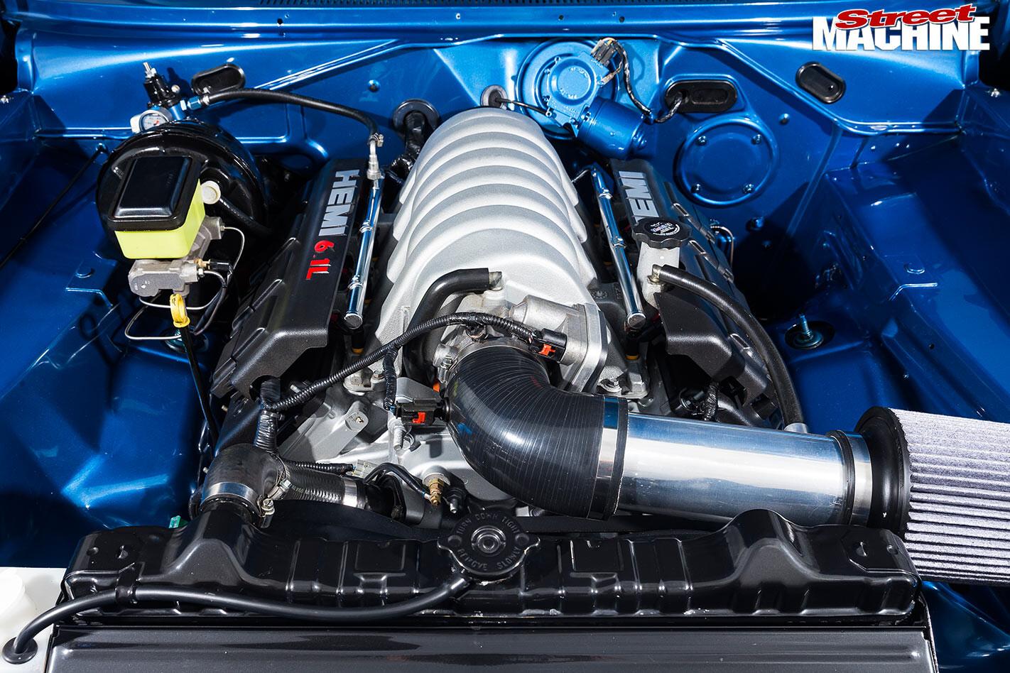 Valiant VJ Regal engine bay