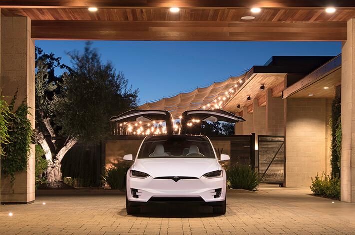 Tesla Model X Front Jpg