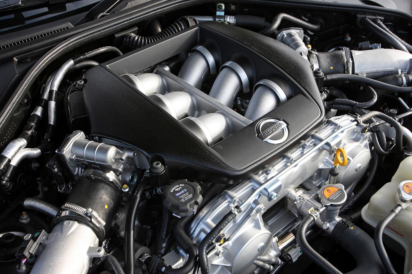 Nissan R35 GT-R Spec-V engine