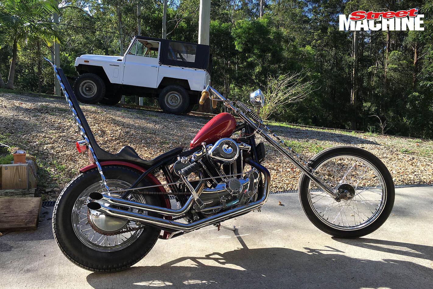 76 Ironhead Chopper