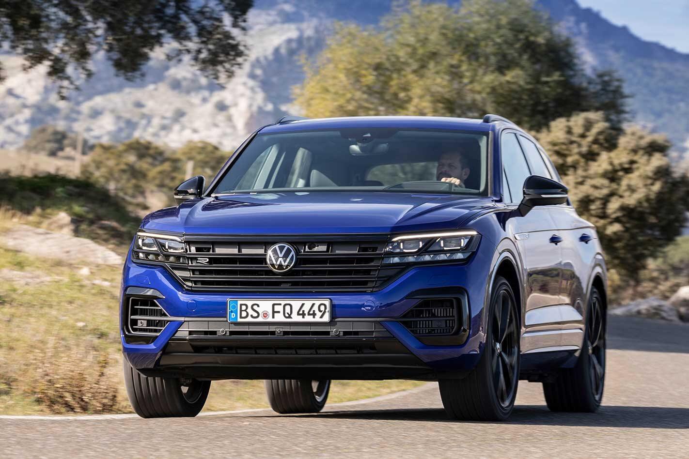 Volkswagen Touareg R revealed