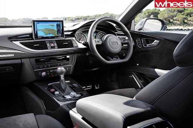 Audi -RS7-interior