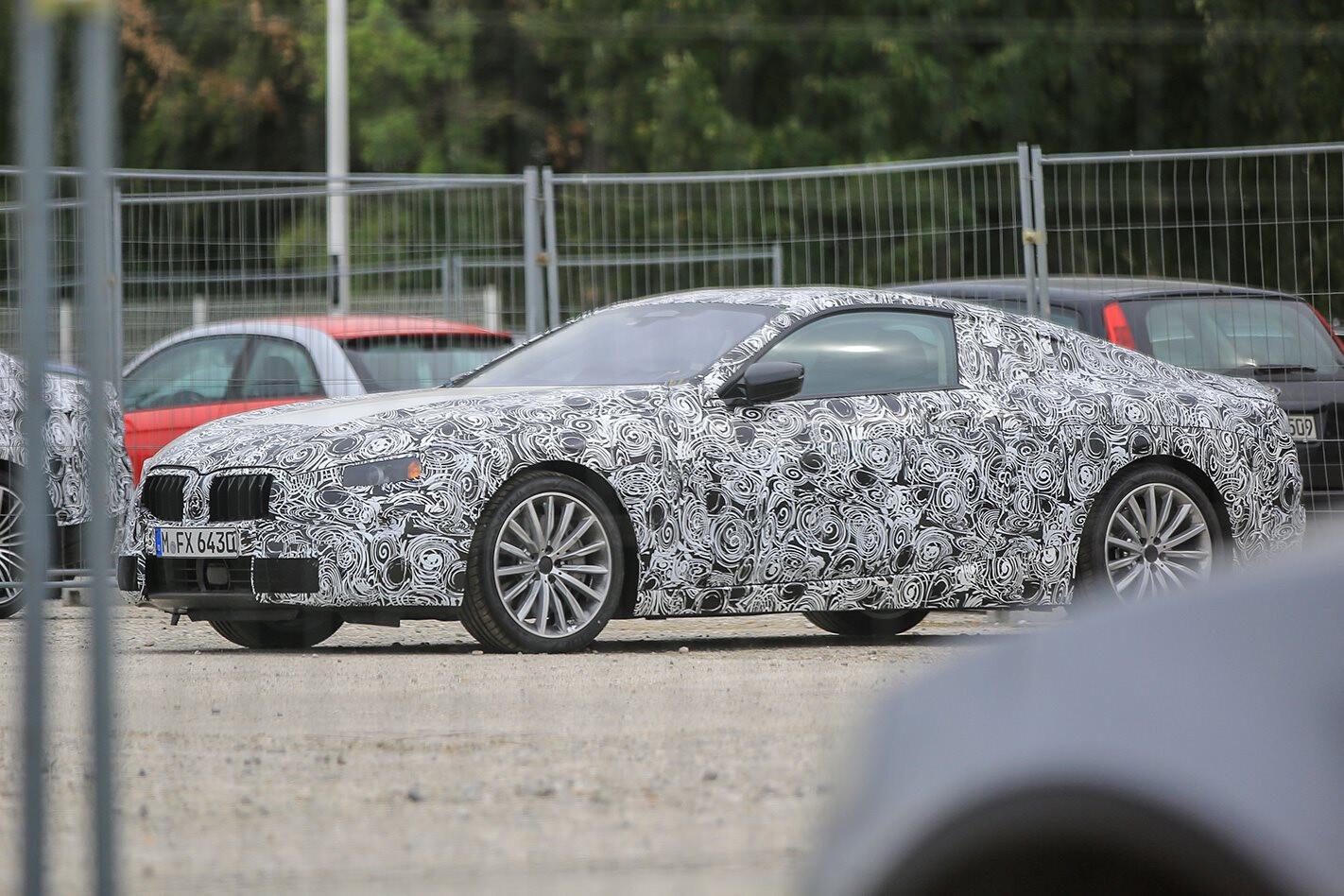 2018 BMW 8 Series spy pics