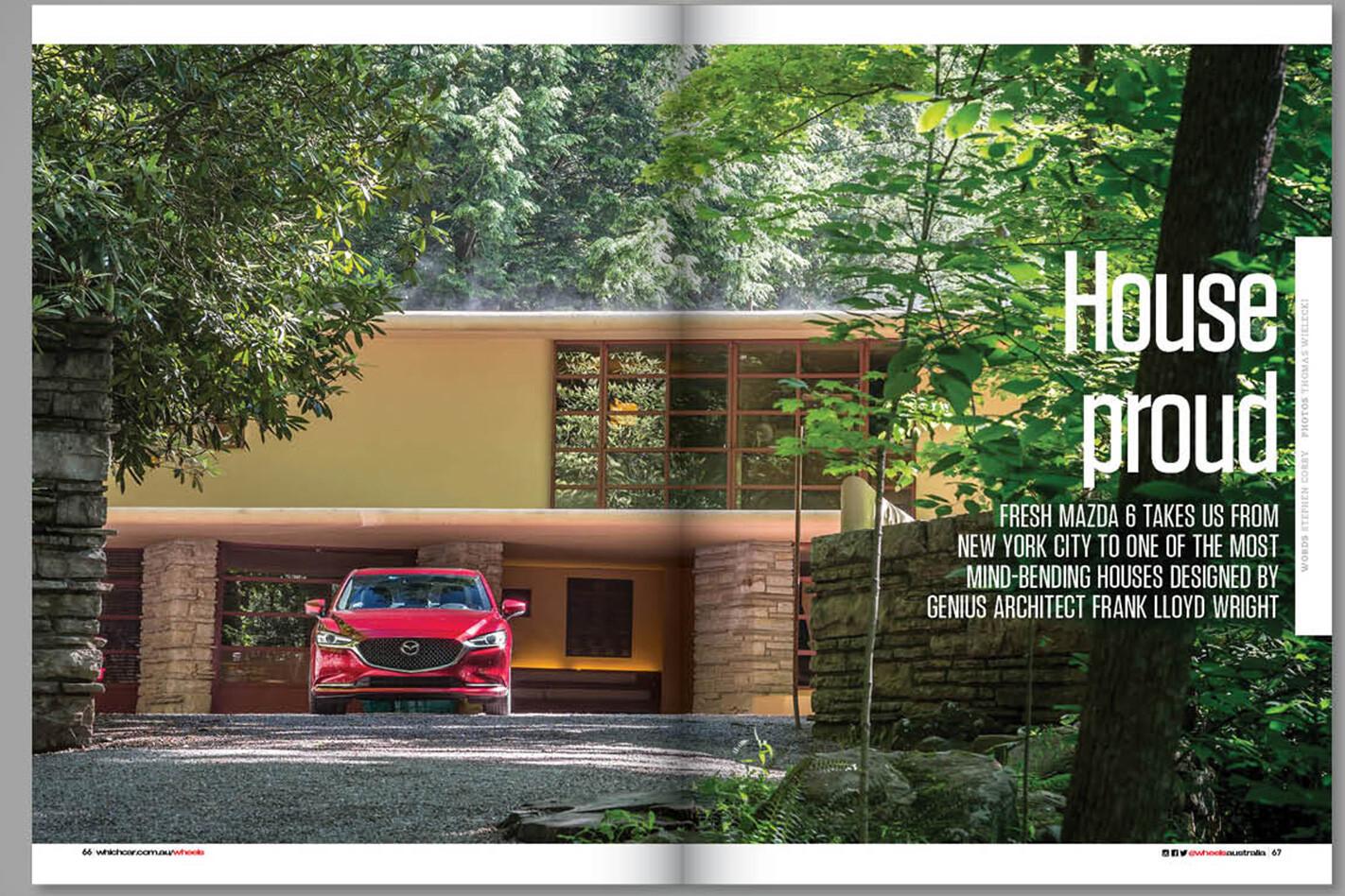 mazda6 Wheels magazine preview