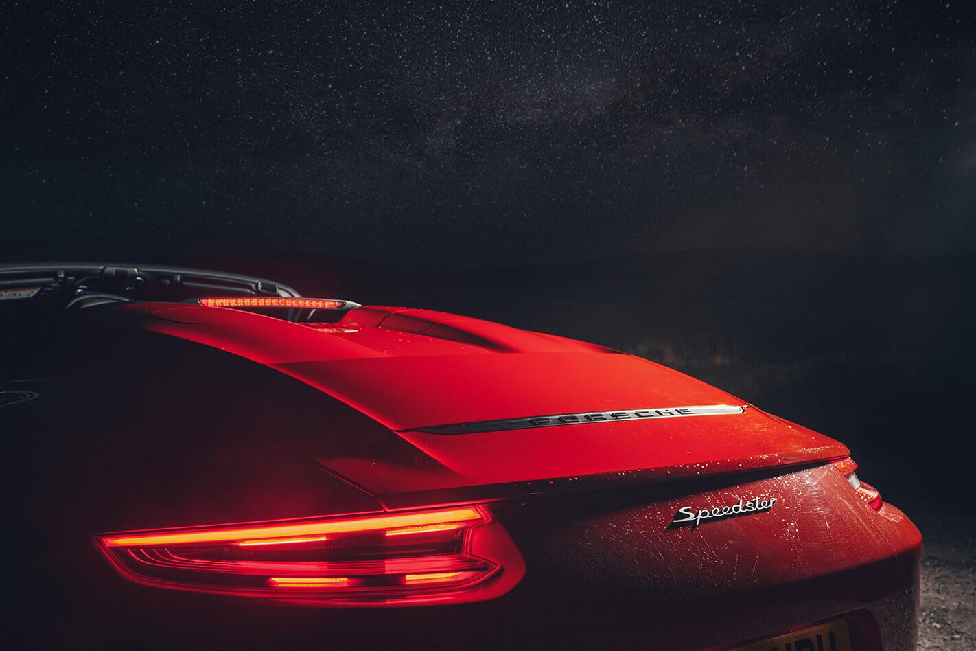 2020 Porsche 911 Speedster tail