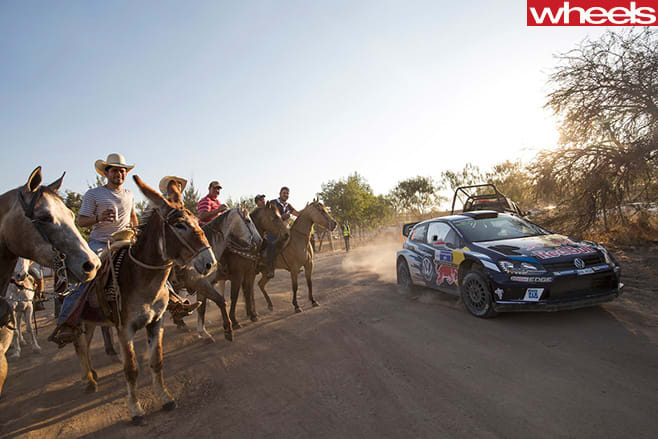 Latvala -Rally -Mexico -Volkswagen -driving