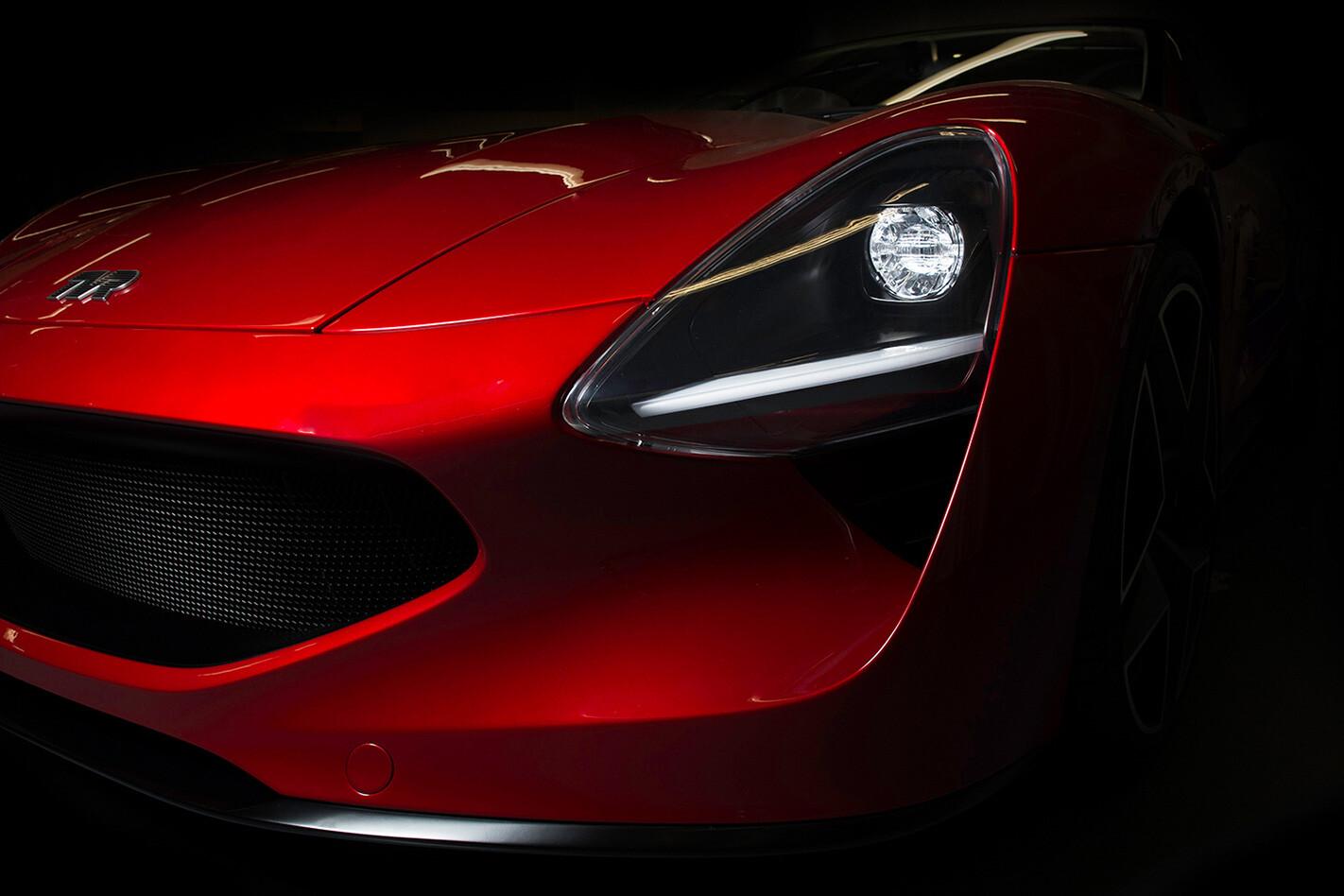 TVR Griffith headlights