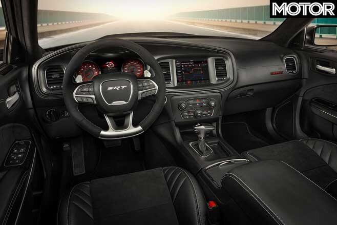 2020 Dodge Charger SRT Hellcat Widebody interior