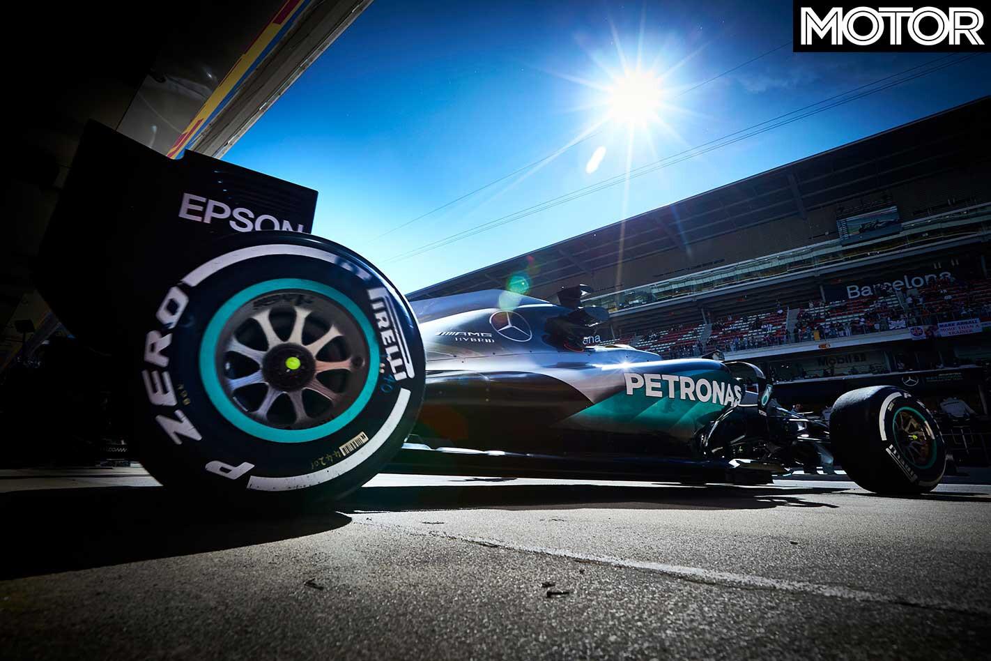 Mercedes AMG F 1 Rear Wheel Jpg