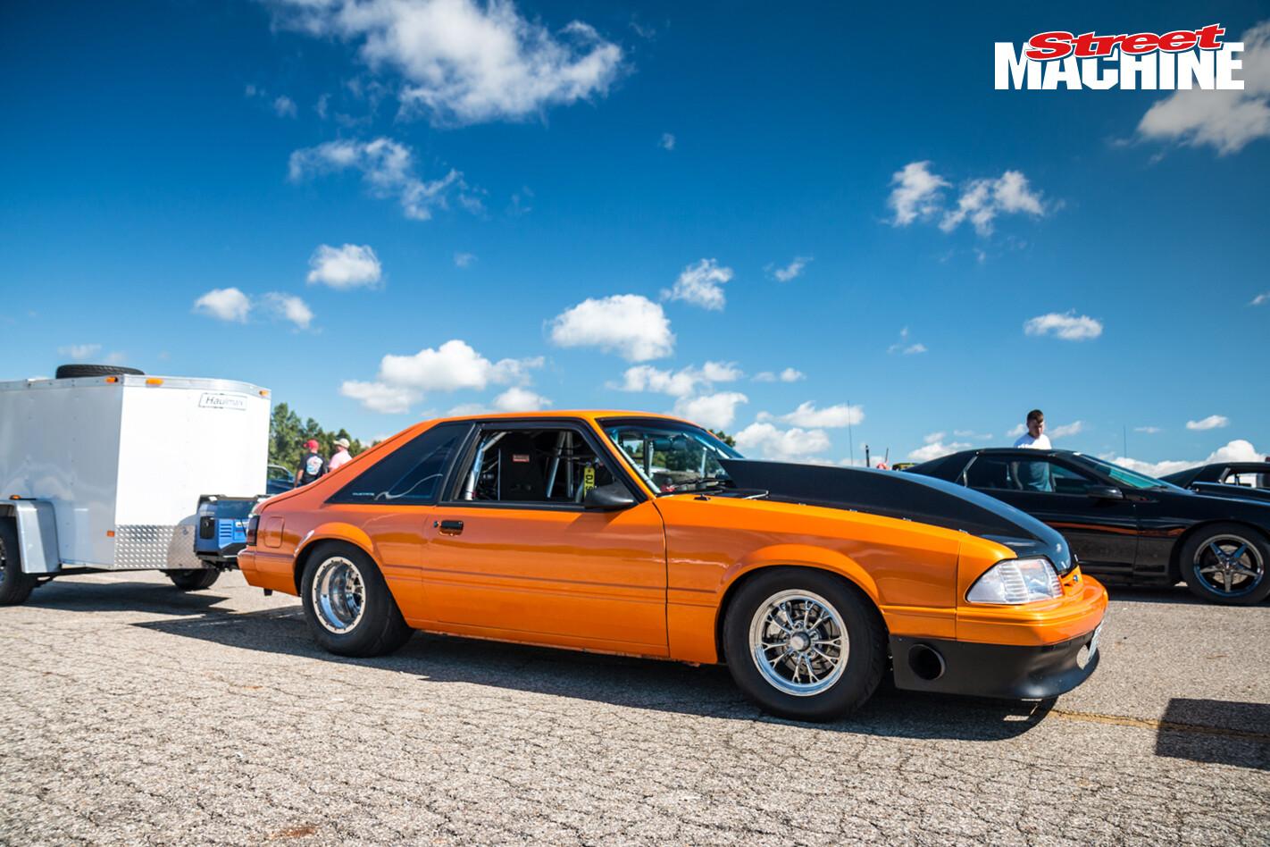 Ford Mustang Drag Week Dan Saitz