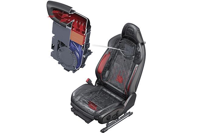 Audi heated seats