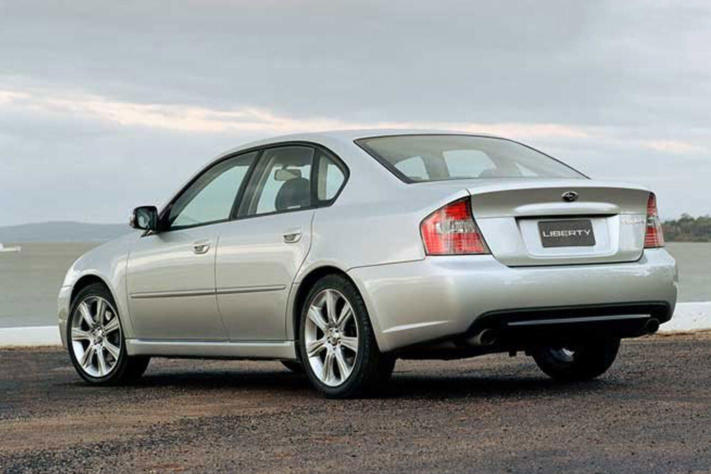 Goodbye Subaru Liberty