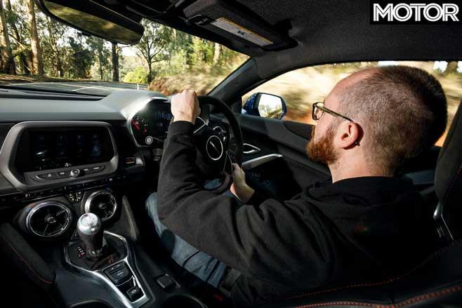 2019 Chevrolet Camaro ZL 1 Driving Position Jpg