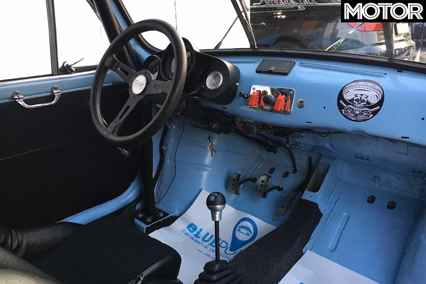 1982 Zastava 750 Abarth 1000 TCR Tribute Interior Jpg
