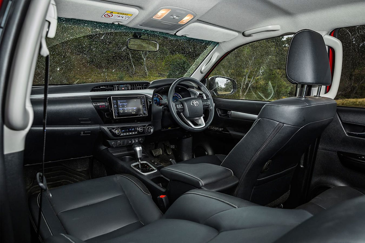 Toyota Hilux Interior Jpg