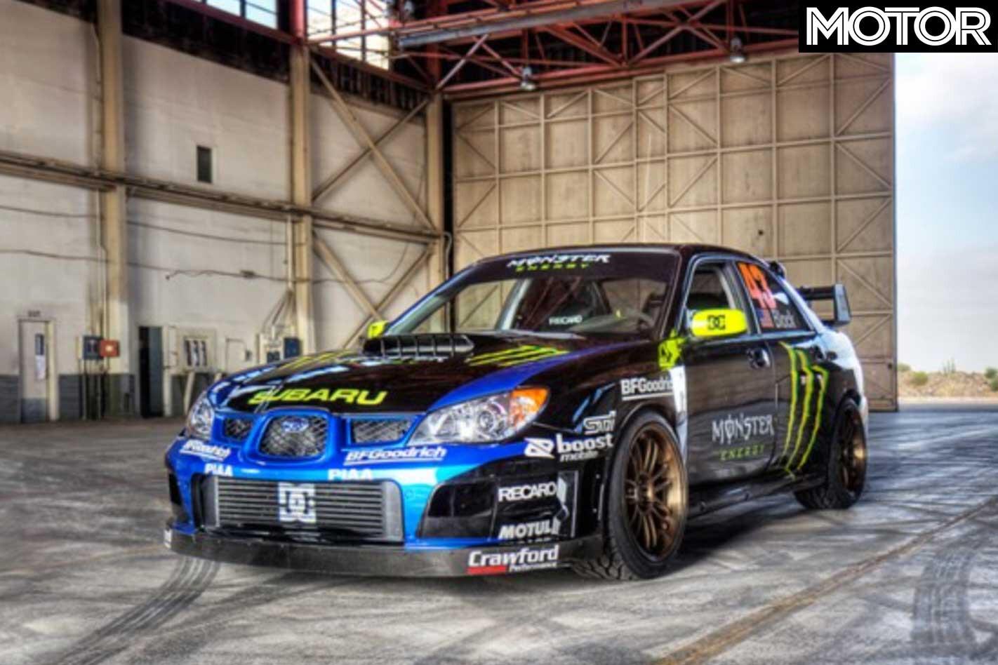 2006 Subaru Impreza WRX STI Gymkhana Jpg