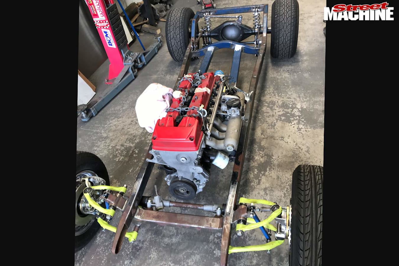 Ford Model A chassis