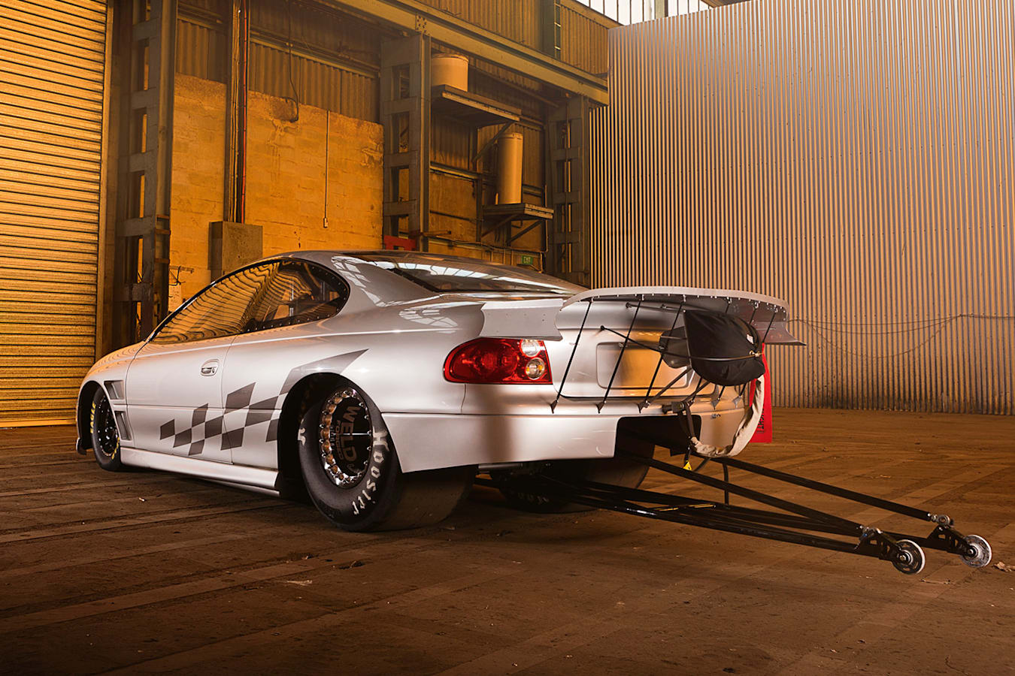 Pontiac GTO rear
