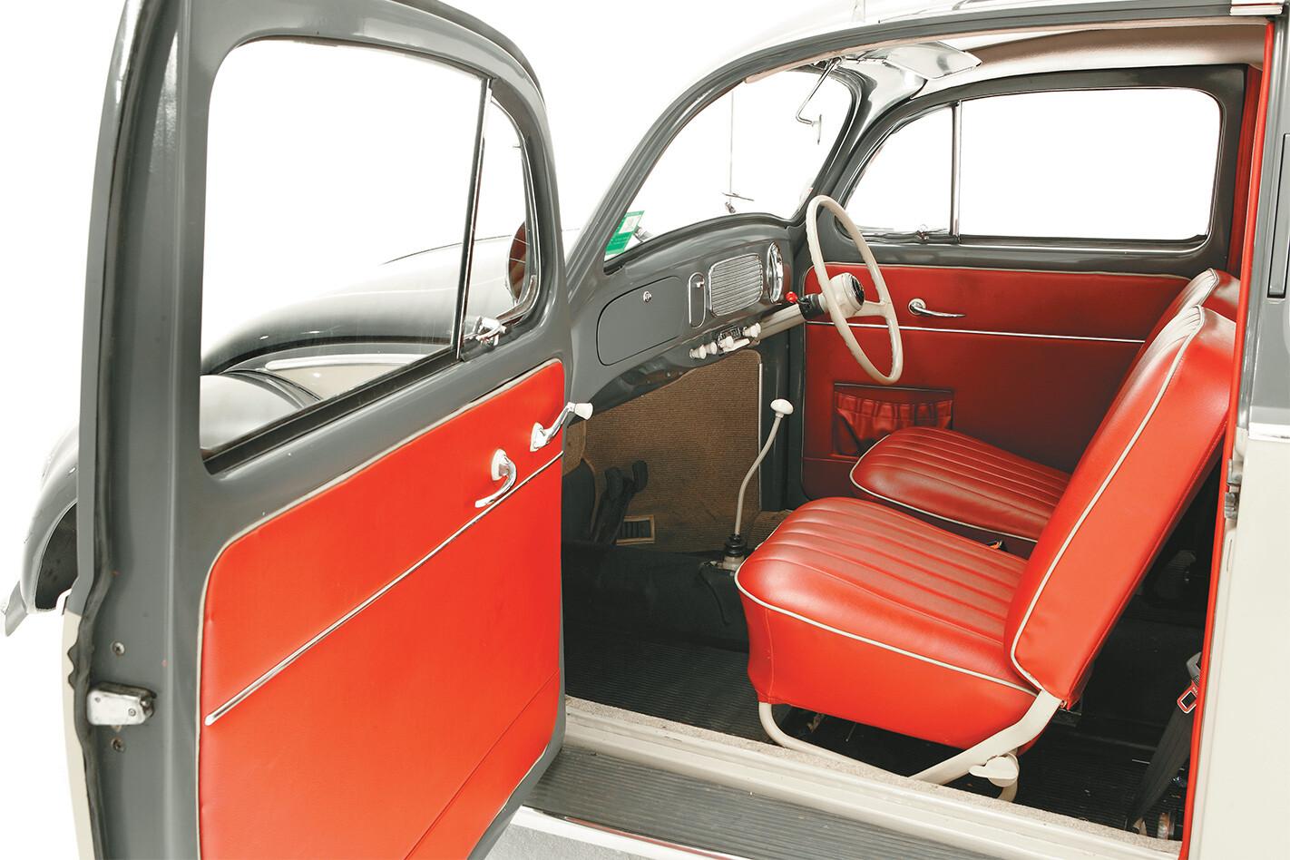 Retro Volkswagen Beetle Interior Jpg
