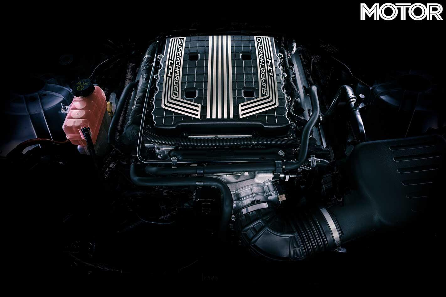 HSV 2019 Chevrolet Camaro ZL 1 Australia Engine Jpg