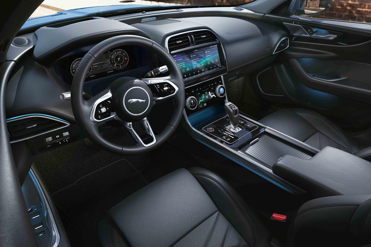 Jaguar Xe Interior Jpg