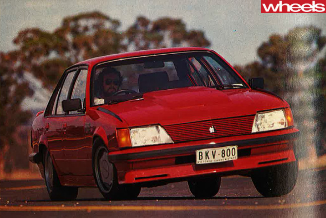1982-red -holden -commodore