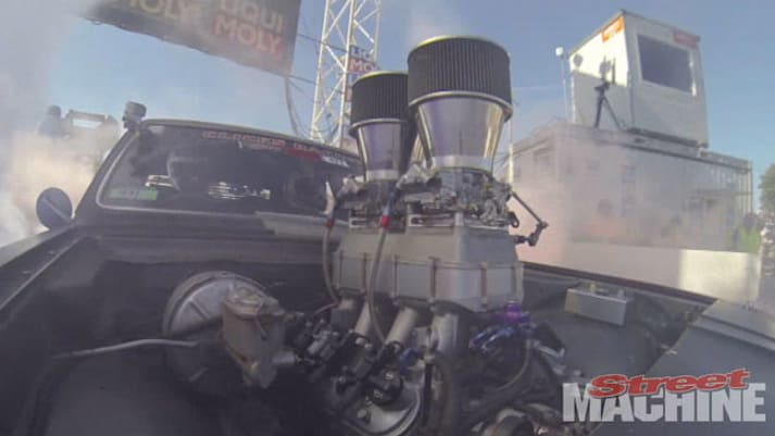 street machine, Summernats, burnout, go pro, holden