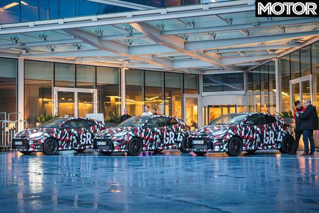 Toyota GR Yaris Prototypes Jpg