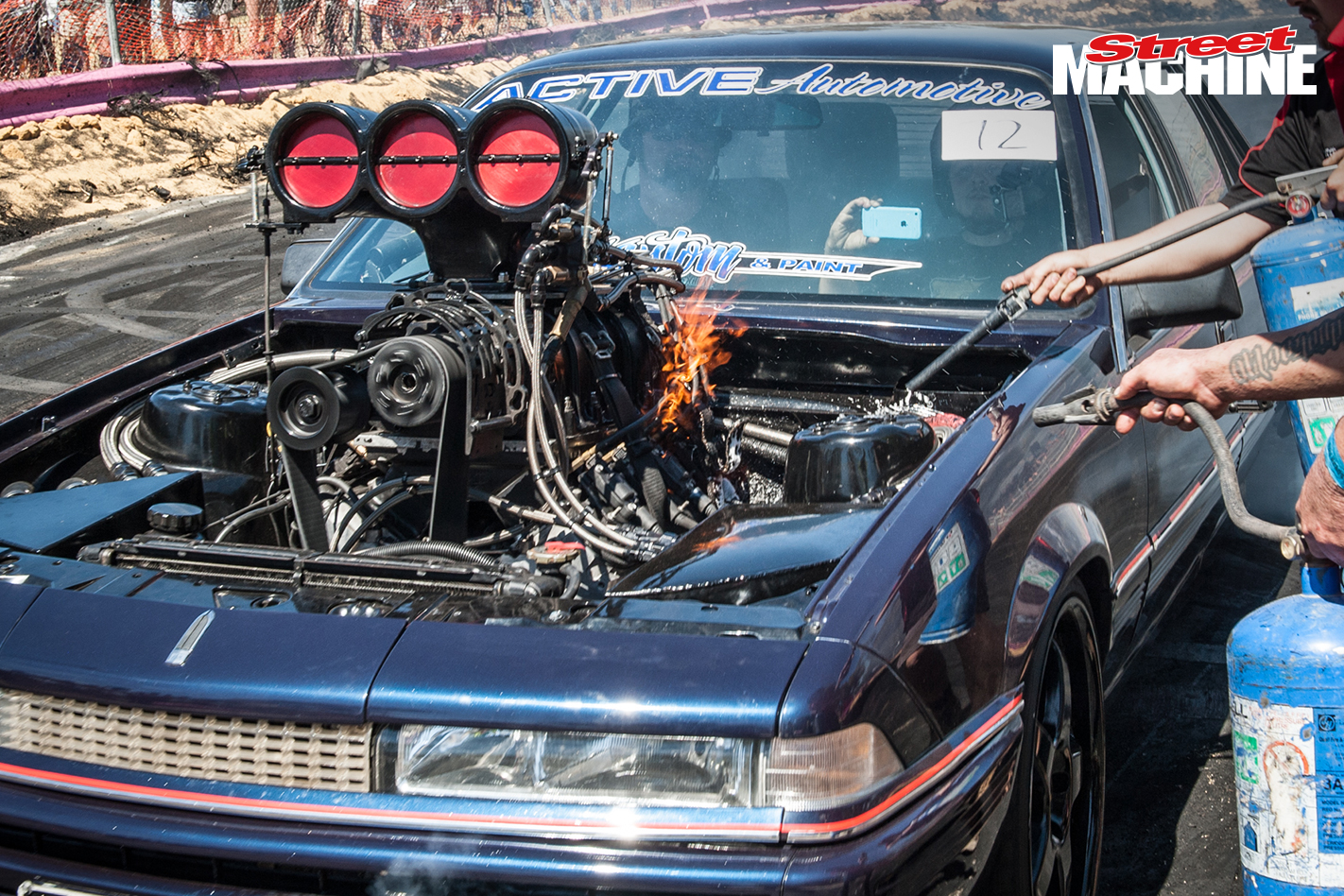 Holden VL Blown Burnout 5717