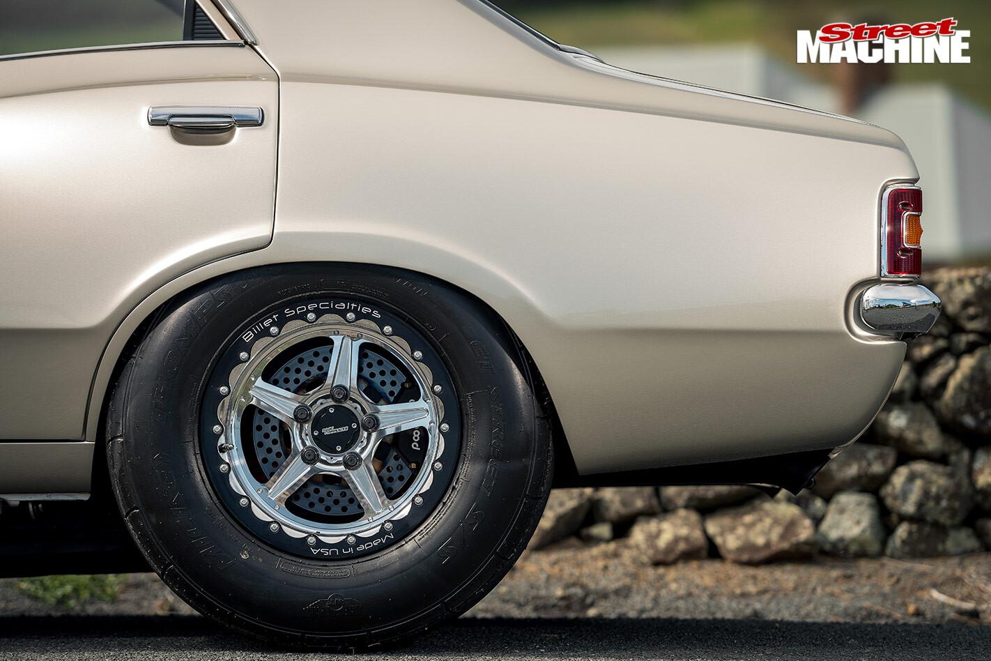 Ford TD Cortina wheel