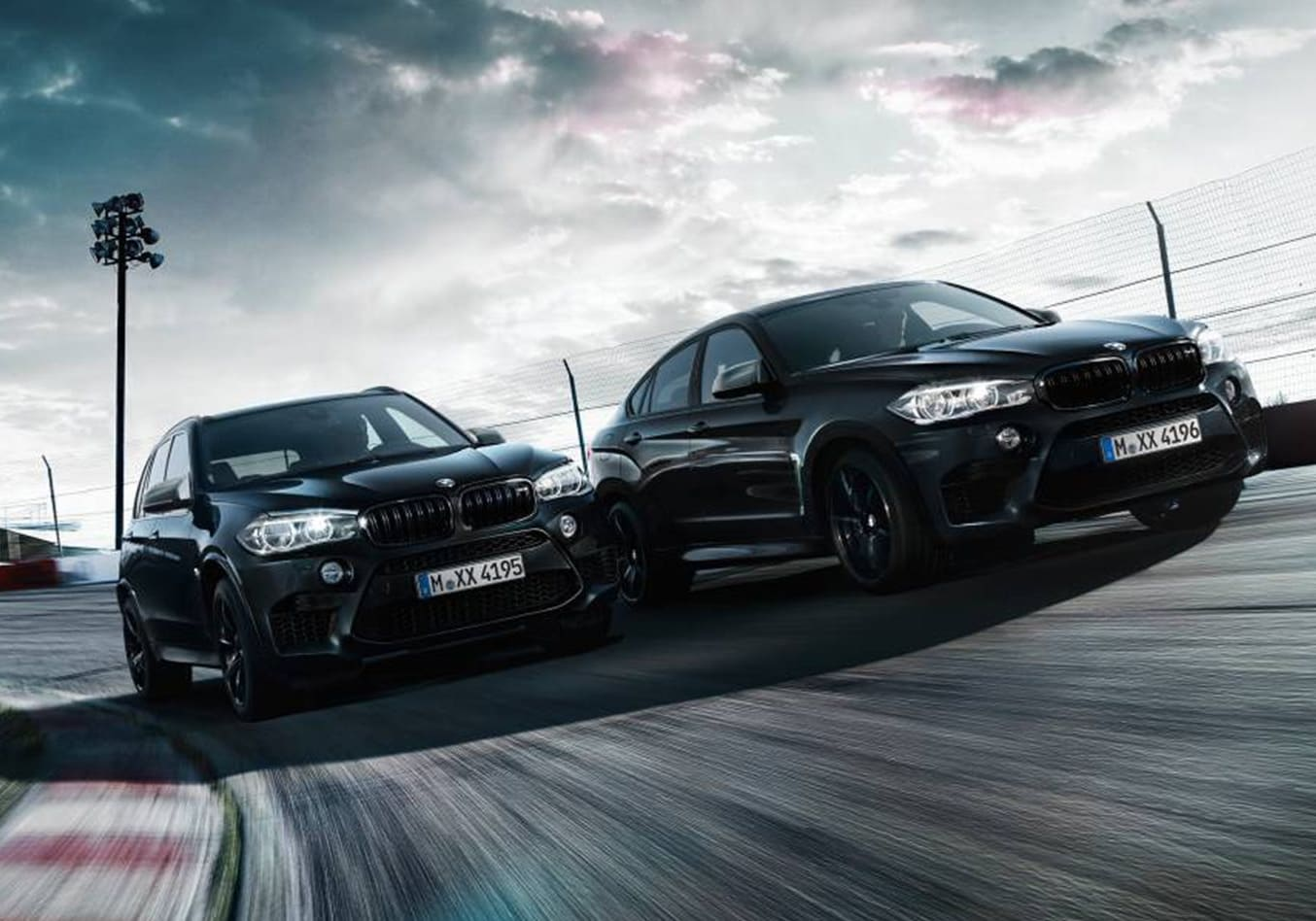 BMW X5 M and X6 M Black Fire Editions
