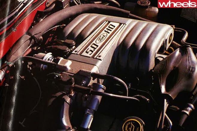 1990-Ford -Falcon -HO-engine