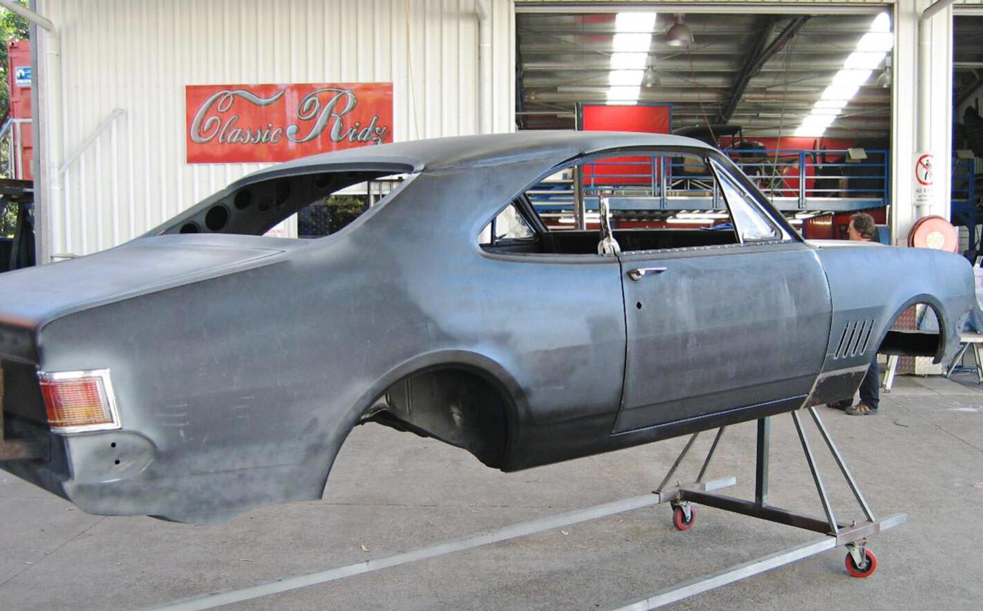 Holden HG Monaro build