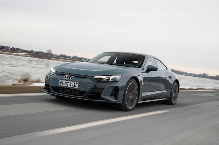 2021 Audi e-Tron GT review