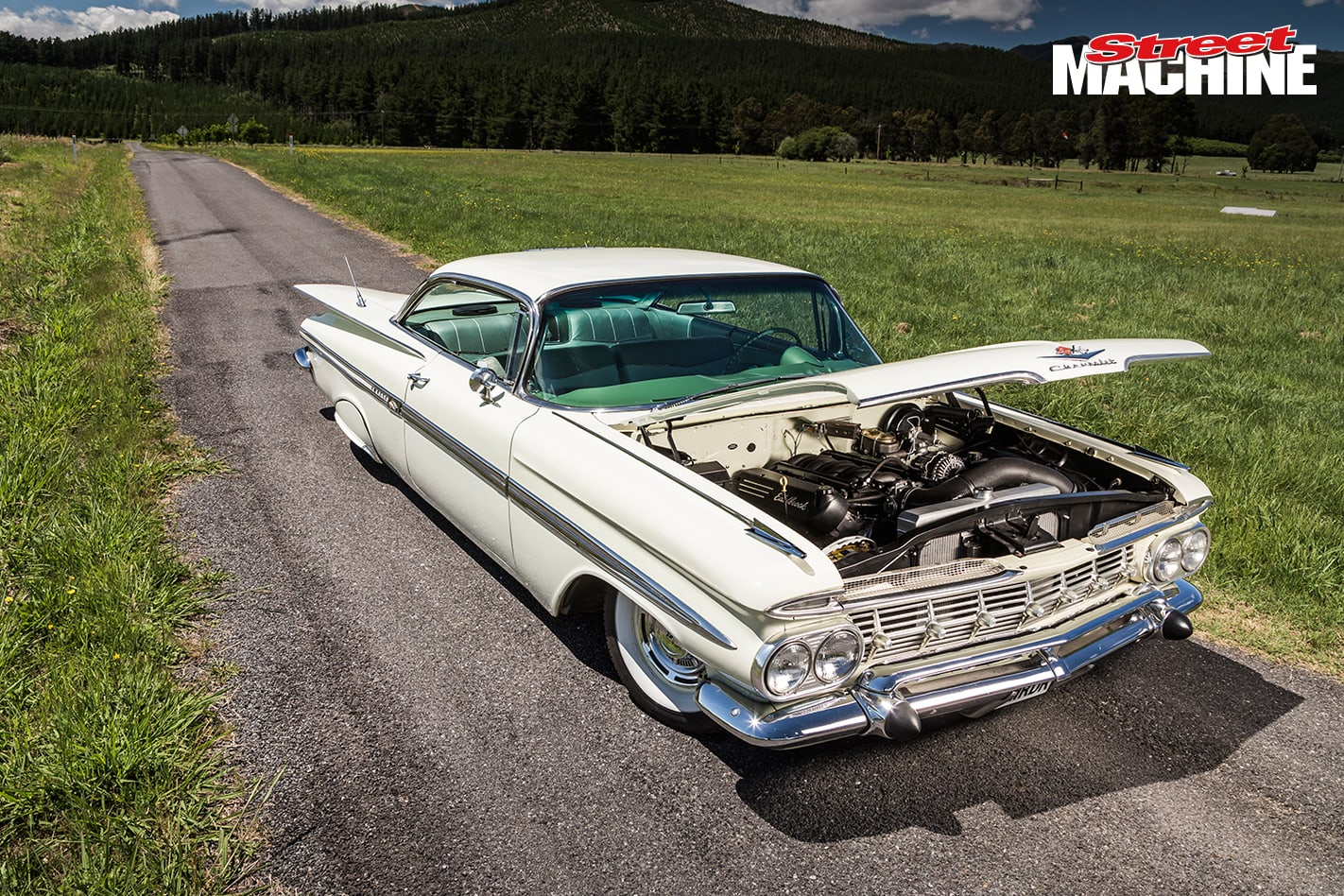 59 Chevy Impala Coupe 9 Nw