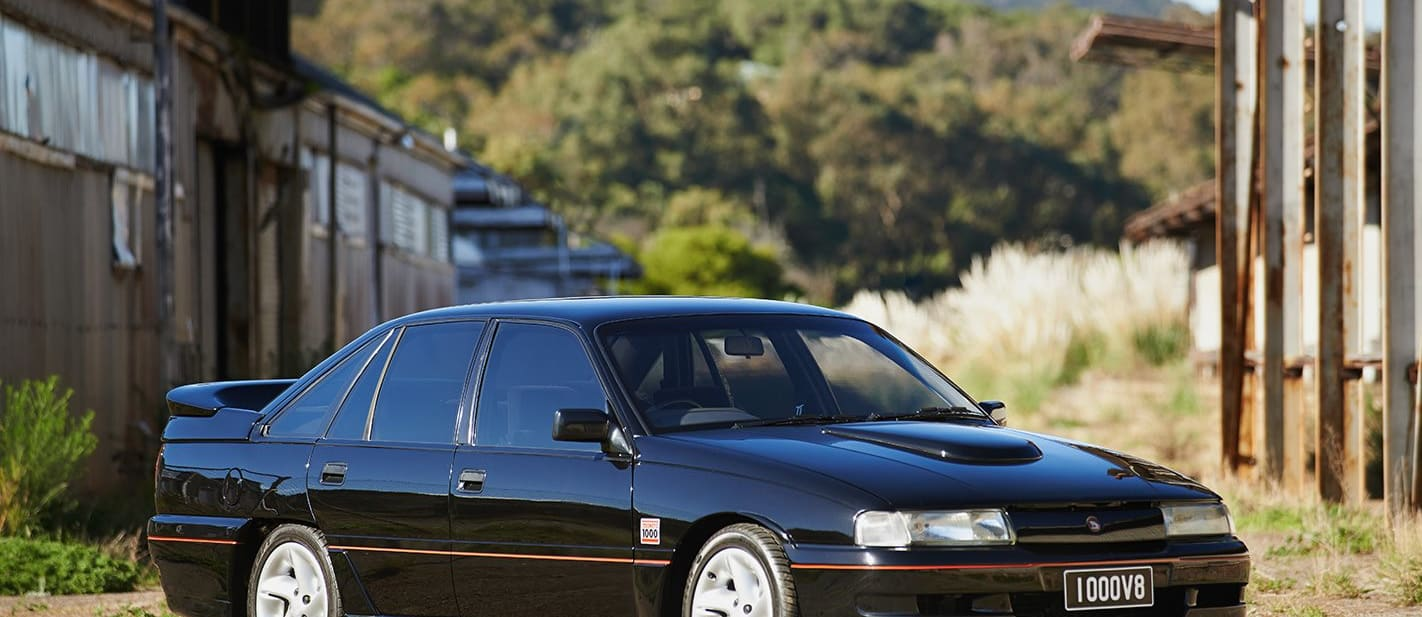 Holden VN Group A SS black front