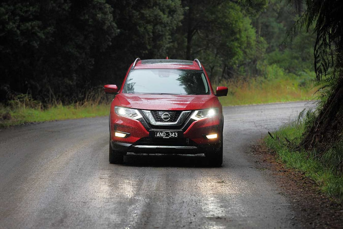 Xtrail Front Driving Jpg
