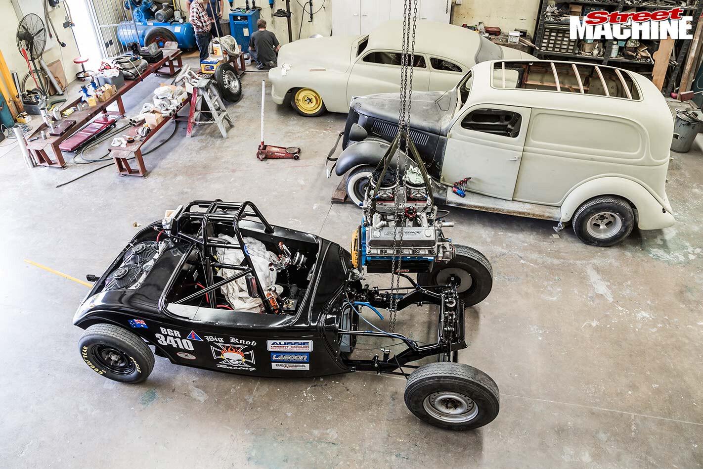 Norm Hardinge garage