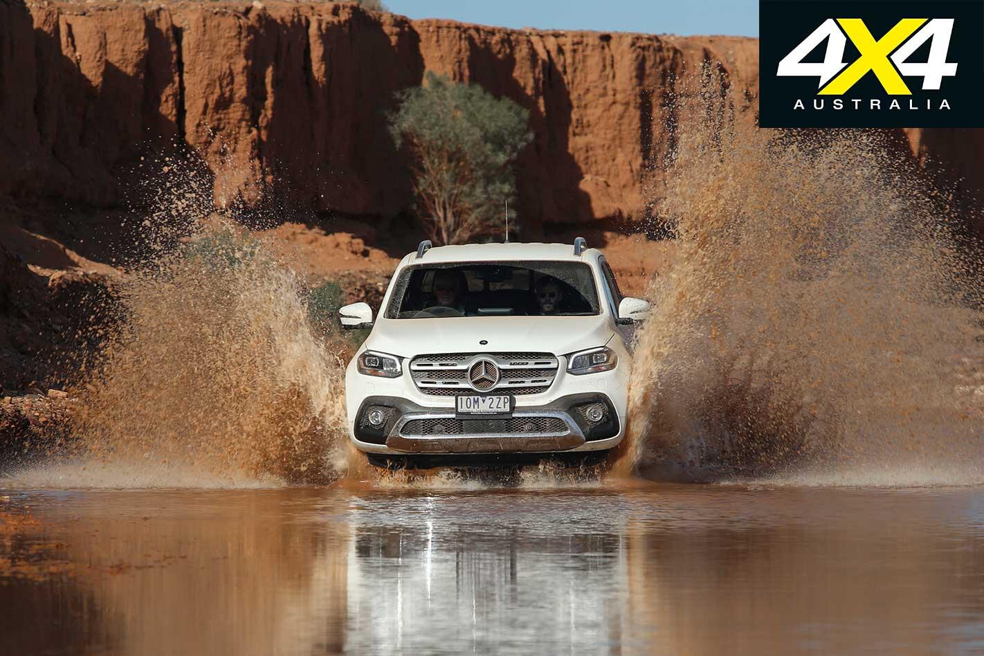 2019 Mercedes Benz X 350 D River Crossing Jpg