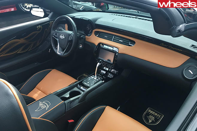 Pontiac -Trans -Am -interior