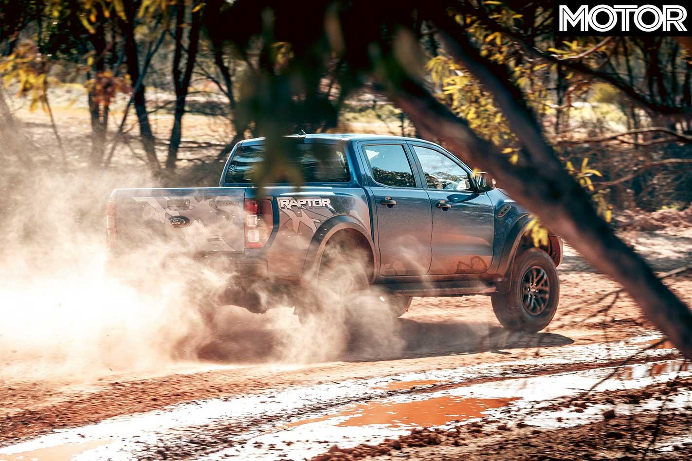2018 Ford Ranger Raptor Powerslide Rear Jpg