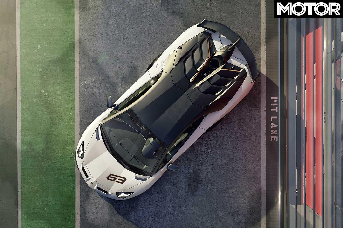 2019 Lamborghini Aventador SVJ Top Jpg