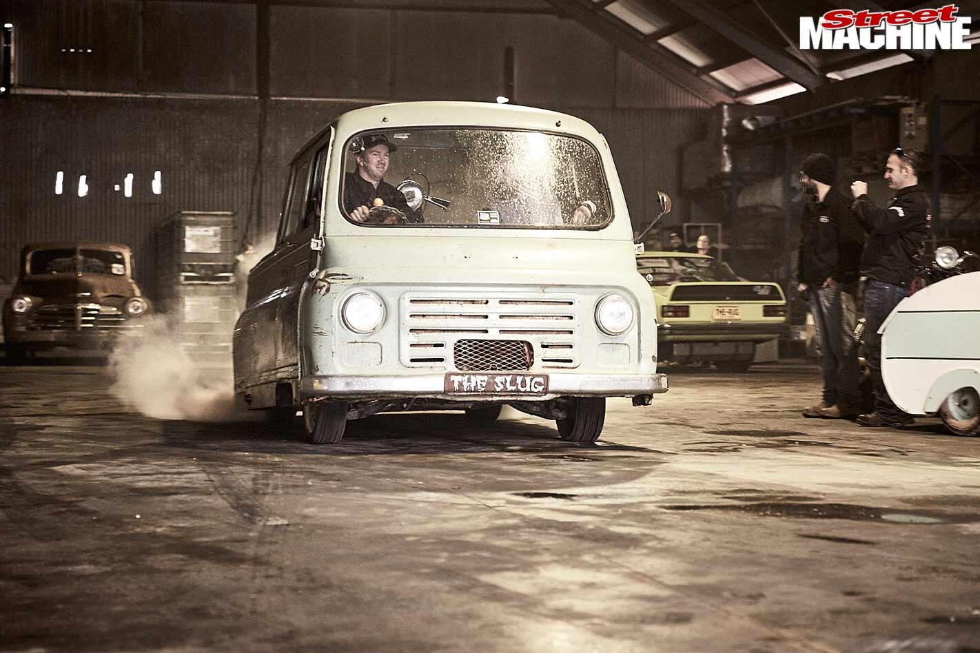 The Slug van