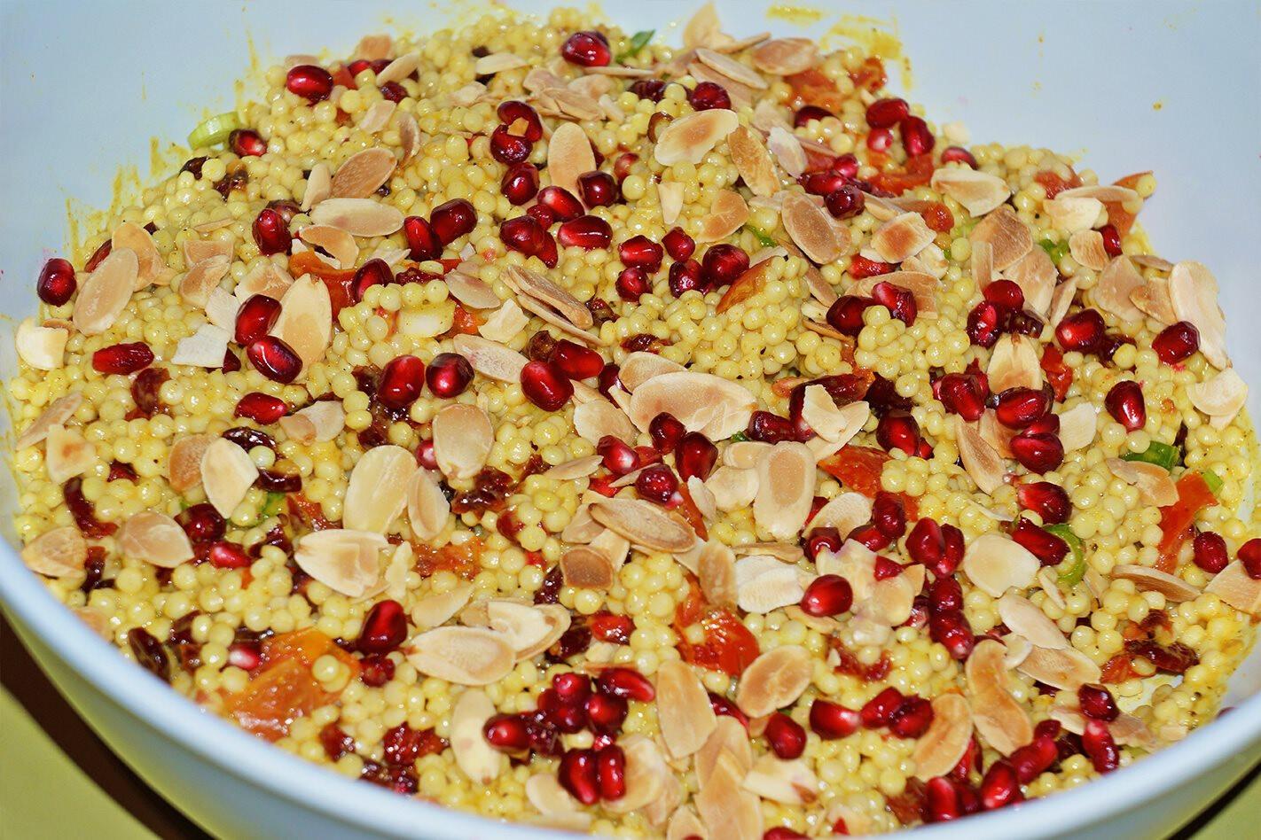 Recipe: Pearl couscous salad