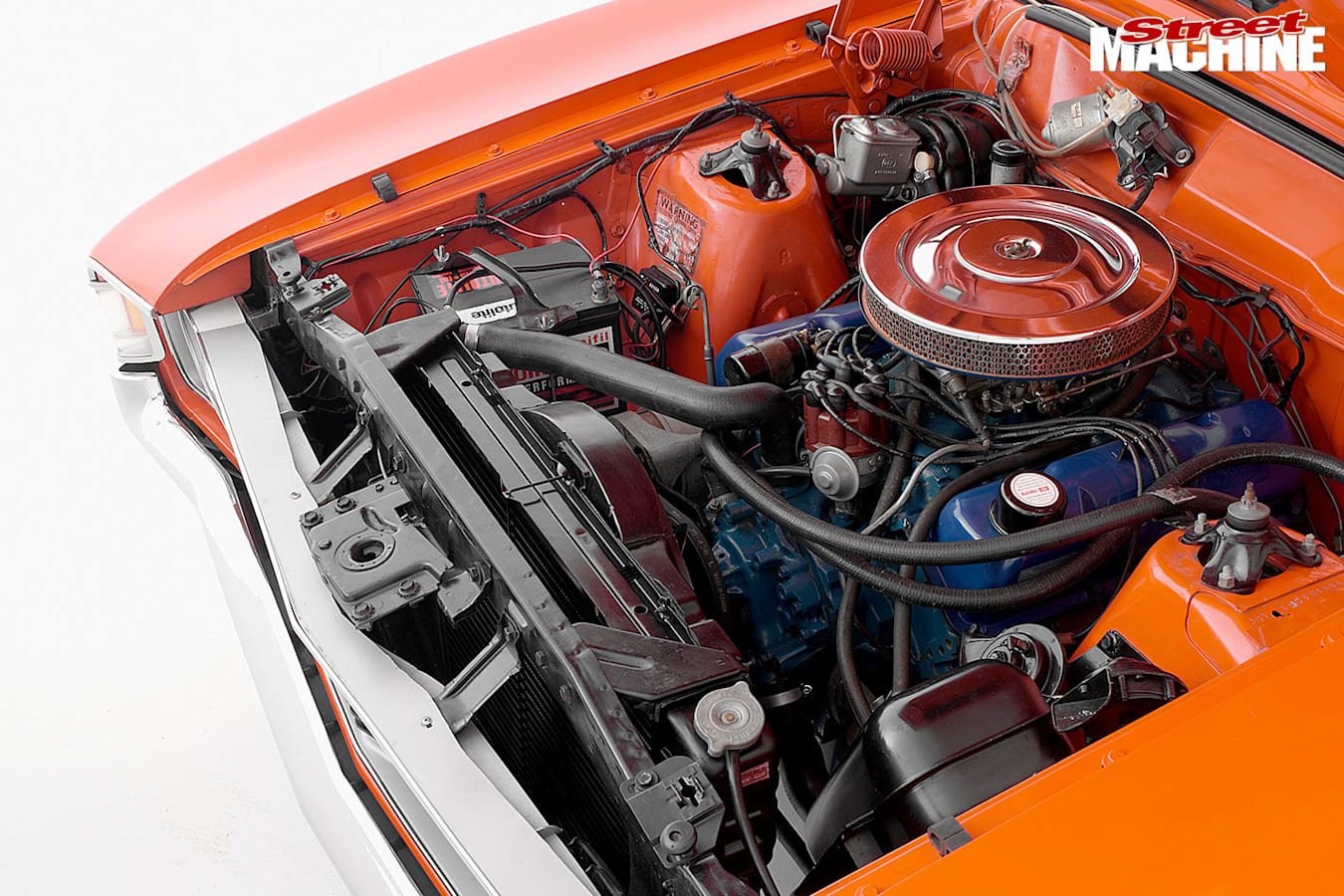 Ford Falcon Phase IV engine bay